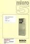 Паспорт на ЧПУ Bosch Micro 5D Mod. 1740 RF3x2000.P07