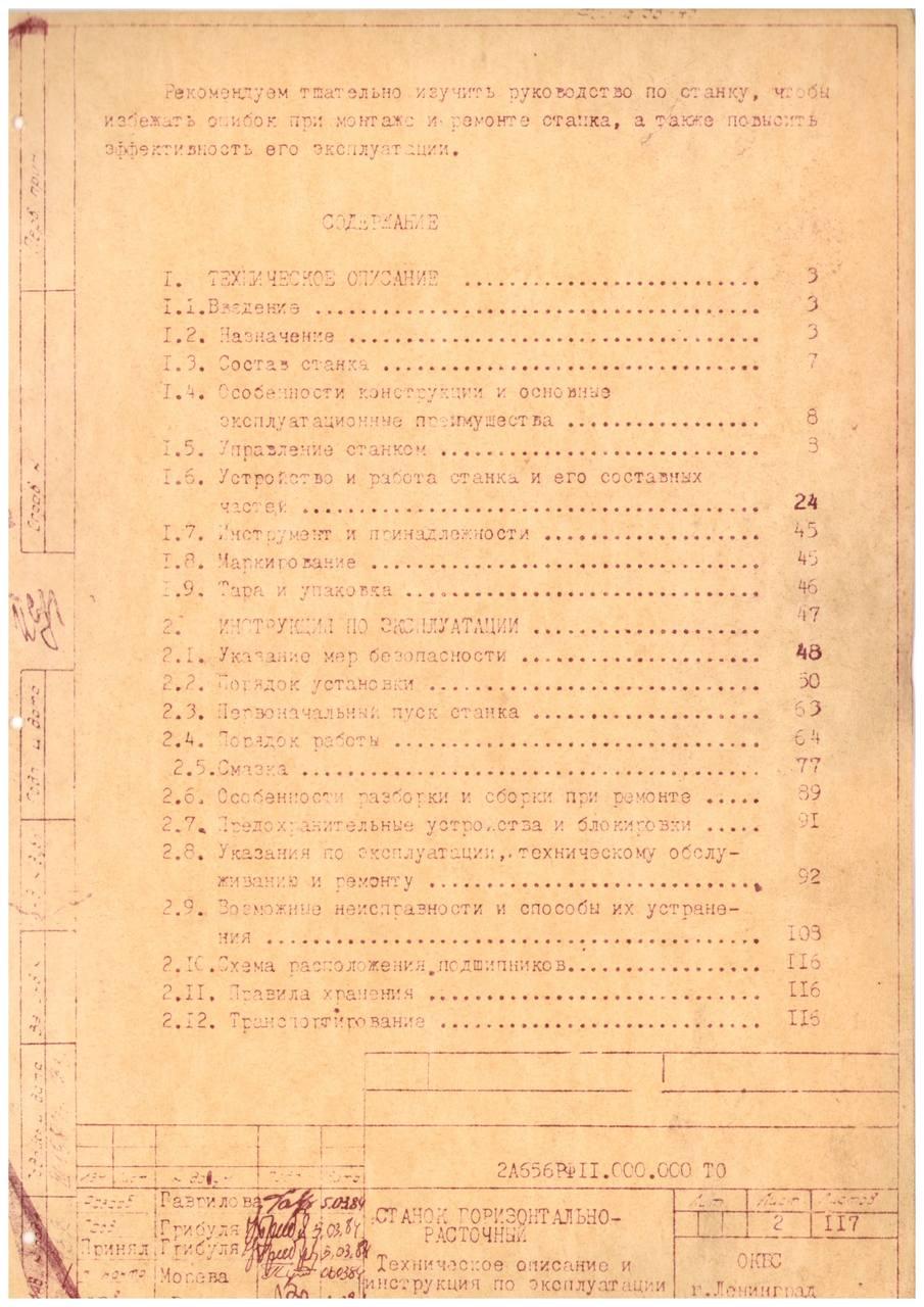 Паспорт Станка 2А637ф1
